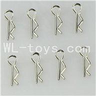 WLtoys L959 RC Car Parts-Shell Pin Parts-8pcs,WLtoys L959 Parts