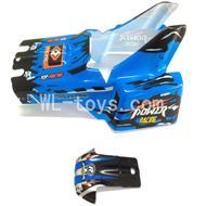 WLtoys L959 RC Car Parts-Body shell,Car Canopy,Car shell Parts-Blue