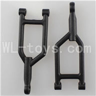 WLtoys L969 RC Car Parts-Front Upper Suspension Arm Parts-2pcs
