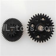 WLtoys L969 RC Car Parts-Rear gear box Reducers,Speed Reduction Gear,Wltoys L969 Parts