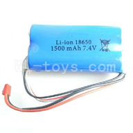 WLtoys L969 RC Car Parts-1500mAh-7.4v-Red-JST-Plug-Battery(Can only be used for L959)