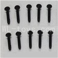 WLtoys L969 RC Car Parts-Socket Head Screw Parts-Set 2.6x12mm-10pcs