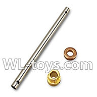 WLtoys V666 Drone Parts-Main pipe & Copper sleeve for Gear & Copper sleeve for the main pipe