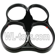 WLtoys V666 Drone Parts-Foam frame Parts-Free shipping by EMS,WLtoys V666 Parts