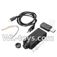 WLtoys V666 Drone Parts-5,000,000 Pixels,1080P HD Camera unit(Include camera,USB,Data line,Wire) Parts