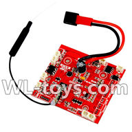 WLtoys V666 Drone Parts-Receiver board Parts,Circuit board,WLtoys V666 Parts