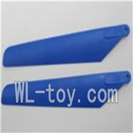 WLtoys V915 RC Helicopter Parts-Main rotor blade(2pcs)-Color Random