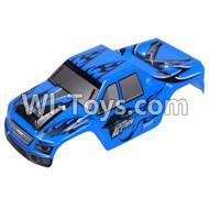 Wltoys A979 RC Car Body Shell Cover Parts,Car canopy,Shell cover-Gray,Wltoys A979 Parts