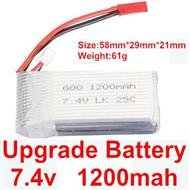 Wltoys A969 Upgrade Parts-Upgrade 1200mah battery,Wltoys A969 Parts