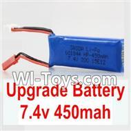 Wltoys K969 Upgrade Parts-Upgrade Battery-Upgrade Battery-Upgrade 7.4V 450MAH Battery,Wltoys K969 Upgrade Mods