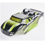 HBX 2128 Wildrider Parts-Body Shell Parts-Buggy Body Shell,Car shell-Green Parts-28B02