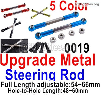 Wltoys 12427 Upgrade Metal steering rod-12427-0019