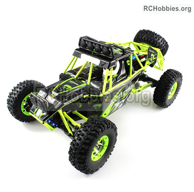 Wltoys 12427 RC Car and Parts