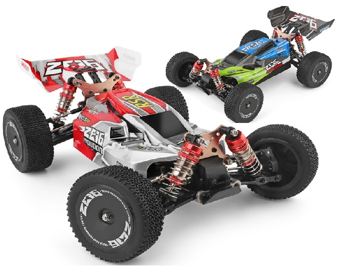 Wltoys 144001 RC Car and Parts