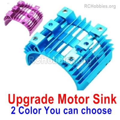 Wltoys 144001 Upgrade Motor Heat Sink Parts. Two colors you can choose.
