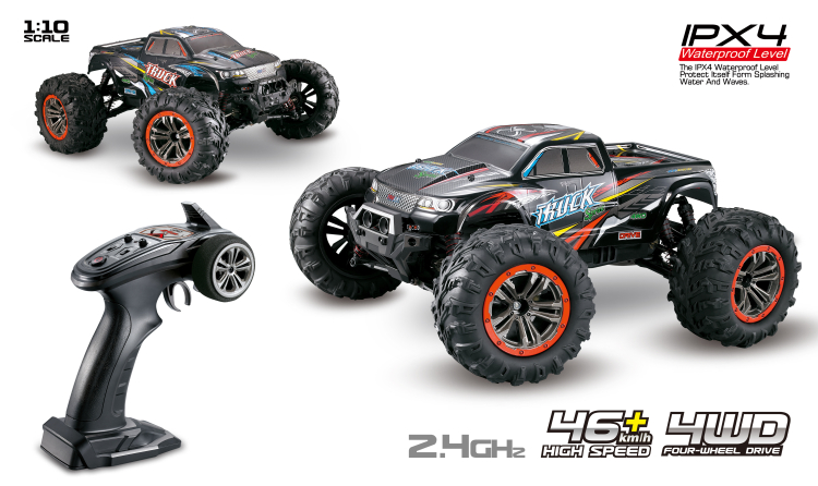 Hosim 9125 RC Car,1/10 RC monster Truck