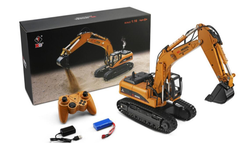 Wltoys 16800 RC Excavator and Parts