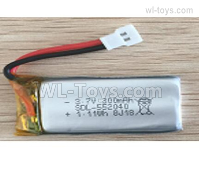 Wltoys XK A200 Battery Packs Parts, 3.7V 300mAh 20C Lipo Batteries Pack. A100.0011.