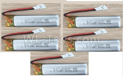 Wltoys XK A200 RC Battery Packs,Total 5pcs. The Cheapest price. 5pcs Lopo Battery packs. A100.0011.